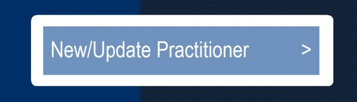New or Update Practitioner Button